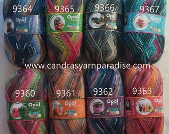 Opal Fresh & Juicy sock yarn  3.5 oz / 4 ply