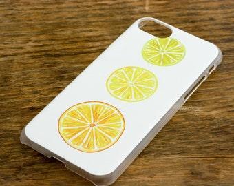 watercolor citrus iphone 7 case watercolor fruit mobile case citrus fruit watercolor iphone 7 case original art iphone 7 orange lemon lime