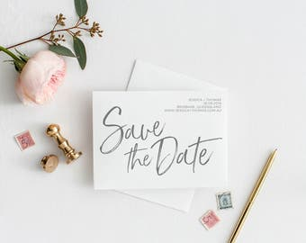Save the Date | Printable Save the Date | Tropical Save the Date | Save our Date | The Soho Suite