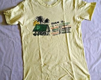 Vintage 80s Guam is ... Shirt