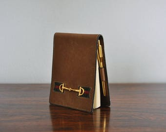 VTG. Gucci Pocket Notepad