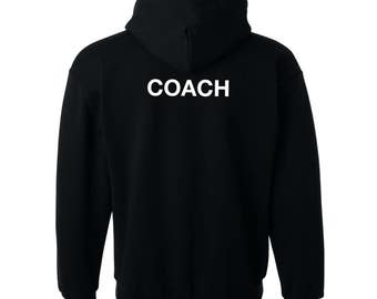 Coach Hoodie - Warm hoodie for Sports Coach, Trainer