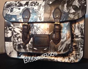 LARGE Satchel Batman Custom Bag