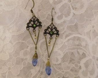 Vintage Style Chandelier Earrings