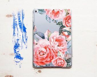 Flowers iPad Note 4 Case Florals iPad Air Case Clear iPad Pro 9.7 iPad with Smart Cover iPad Mini iPad Mini 2 iPad Pro Case CGPAD0040
