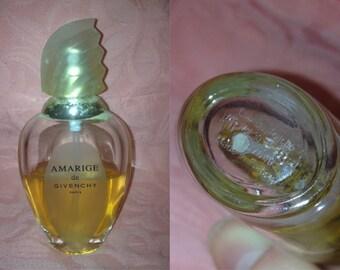 1990s GIVENCHY Amarige Designer Mini Perfume 1 Oz