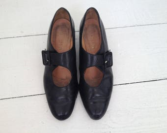 RESERVED FOR MARIA 1920s 1930s Mary Jane shoes Size 5 Euro 38