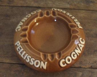 "Cognac ""Pellisson"" Périgord pottery ashtray"