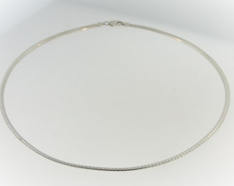 Cocoon Style Necklace-Sterling Silver