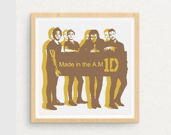 One Direction Printable Art Made In The Am