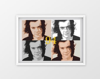 "Harry Styles ""94"" Printable Art"