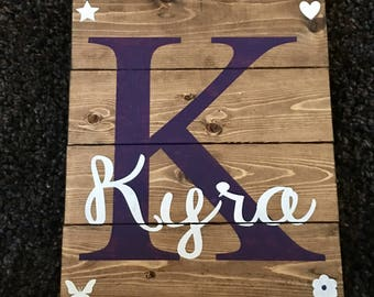 Small Pallet Name Board