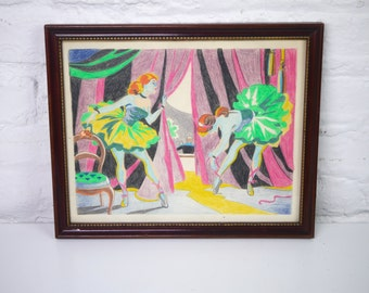 Paint By Numbers Ballerina Ballet painting
