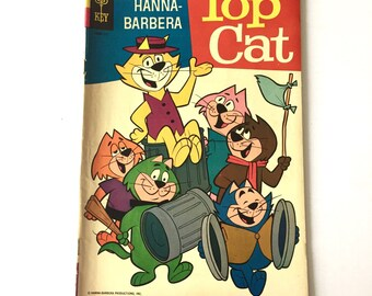 1961 TOP CAT Comic Book Hanna Barbera