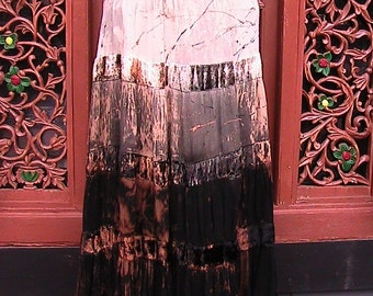 BananaMoon Boho Skirt with velvet