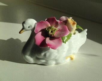 Beautiful Ceramic Swan