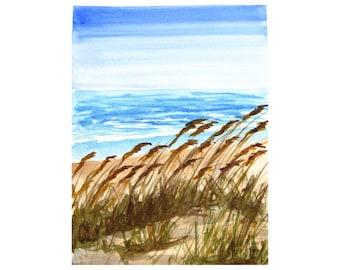 Dunes Study I - original artwork