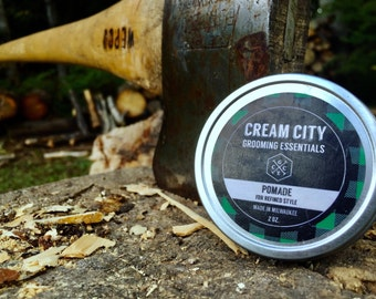 Medium-Hold Pomade | by Cream City Grooming Essentials
