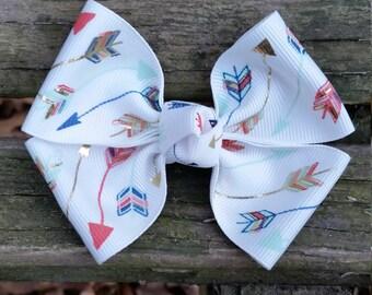 Arrow Hair bow (3.5 inch)