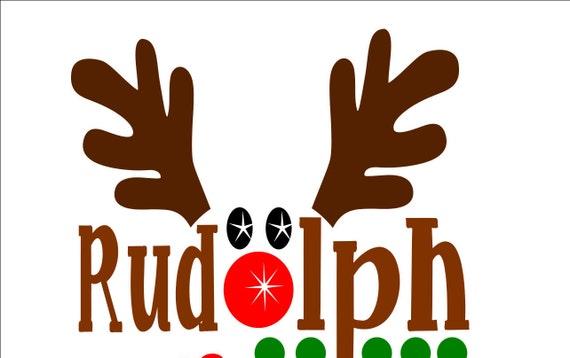 Reindeer Svg Reindeer Face Svg Reindeer Svg File