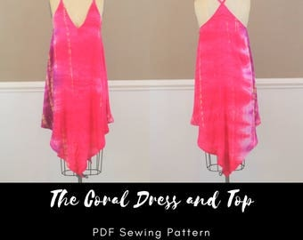 The Coral Dress and Top