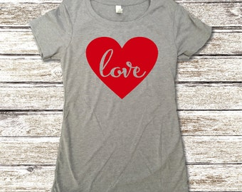 Valentine's Day Shirt - Love Heart Shirt - Valentines Shirt