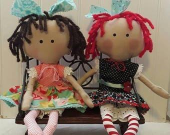 Raggedy Ann/ My Raggedy Molly Doll