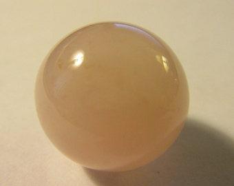 Natural Pink Rose Quartz Gemstone Collectible Orb for Chakra Healing-Meditation,20mm