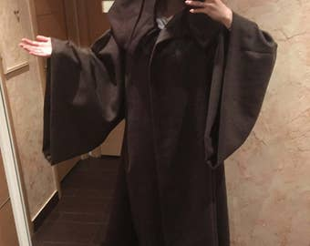 Woolen Jedi cloak/mantle/coat
