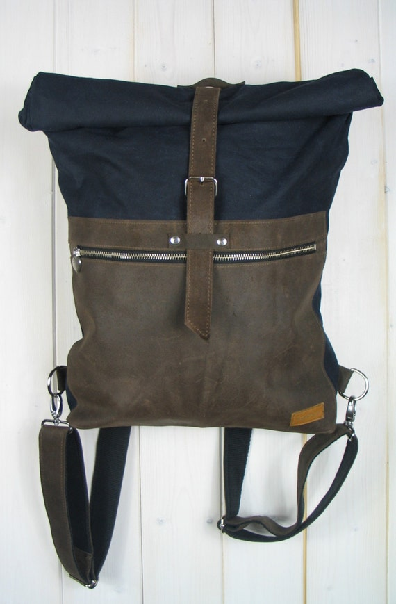 Rouler dessus rouler le haut de la page sac dos de cuir for Ouvrir une fenetre dos