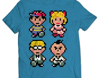 EarthBound Cast T-shirt