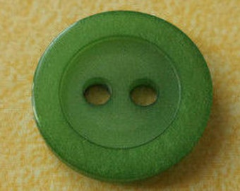 11 buttons 13mm Green (1068)
