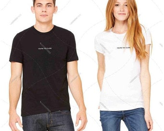 "Unisex - Mens & Womens - Premium Retail Fit ""You're too close"" Crew-neck Tee, T-Shirt (XS,S,M, L, XL+)"