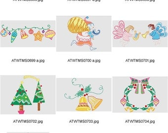 Native-Christmas ( 10 Machine Embroidery Designs from ATW )
