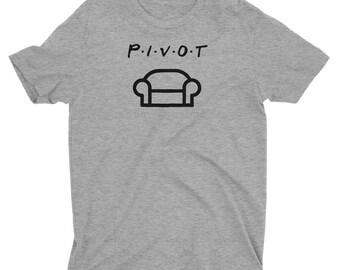 PIVOT Printed Shirt - Friends Shirt - Ross Gellar Pivot T-Shirt
