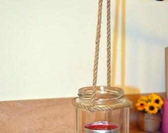 Upcycled candle lantern / wedding lanterns / rustic lanterns