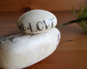 Faith Hope & Love stone