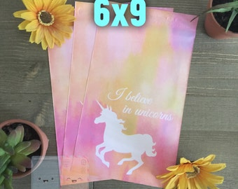 SALE** 100 pcs 6x9 Pink Unicorn Poly Mailers