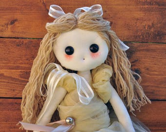 Juliet, stuffed doll