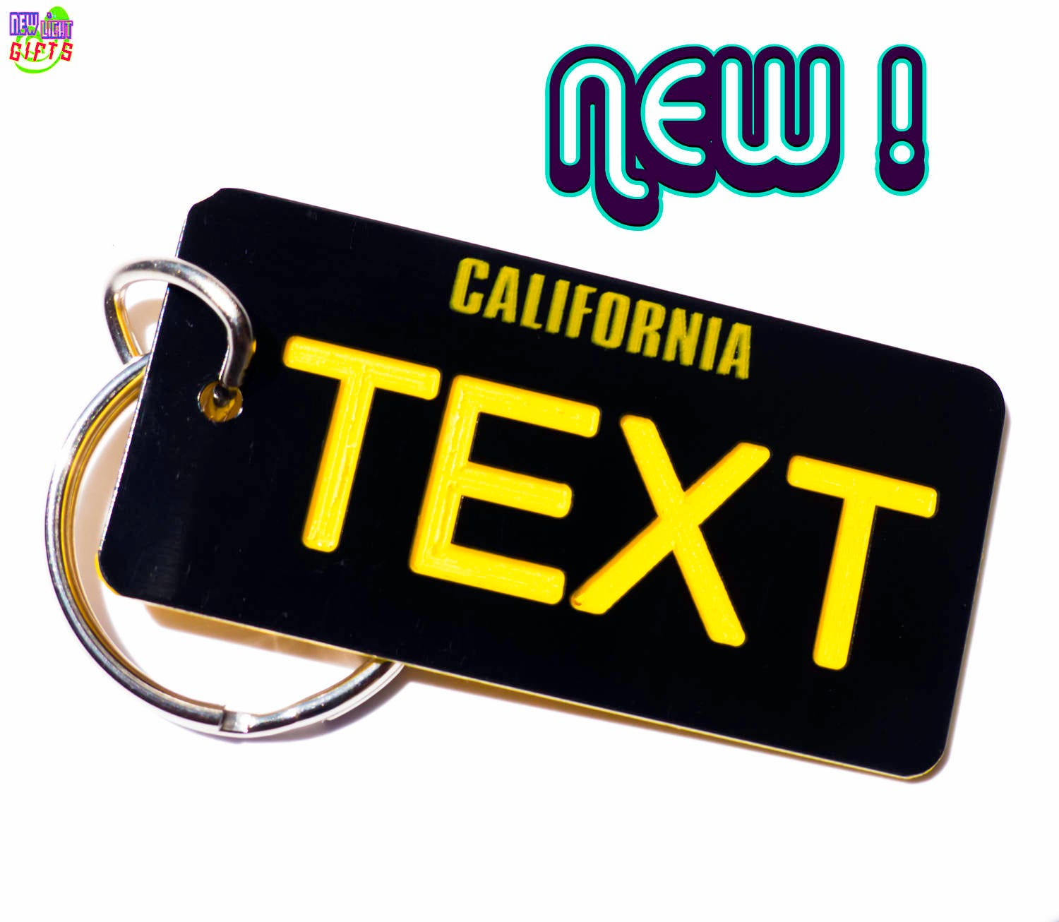 Personalized New California 1960s Legacy State License Plate