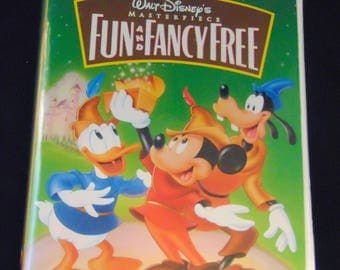 Fun and Fancy Free Vintage Disney VHS