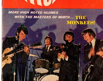 The Monkees #9 Dell Comic Book 1968 VG 4.0 Photo Cover