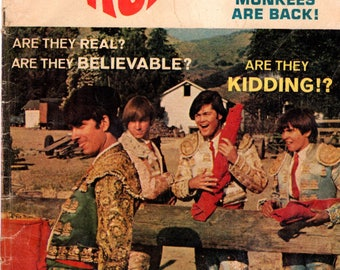 The Monkees #10 Dell Comic Book 1968 VG 4.0 Photo Cover