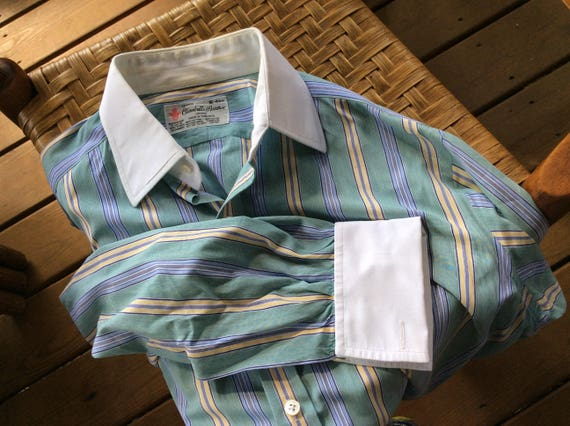TURNBULL & ASSER Dress Shirt - 16/41 - Wear It to Your Office or with Your Jeans- small nb6BmKq