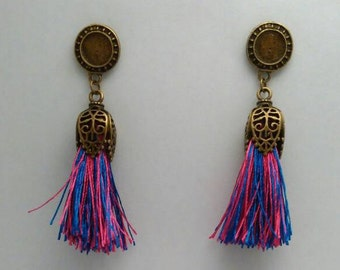 Balinese descent into bronze with tassel colors