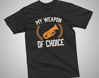Tuba Weapon of Choice T-Shirt