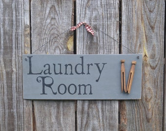 Laundry sign, laundry room sign, wash room, wash room decor