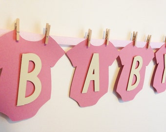 Personalised Baby Shower Bunting