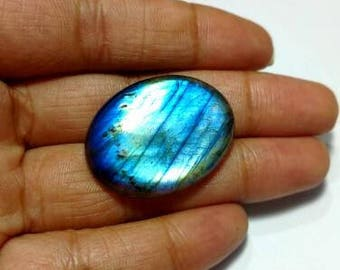 labradorite cabochon high quality blue flashy are available in 8 usd 7.96 gm GM323