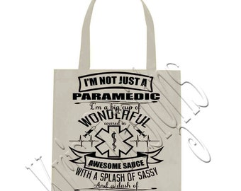 I'm Not Just a (Profession) - Paramedic SVG PNG JPG